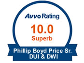 AVVO 10.0 Superb Rated