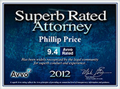 AVVO Superb Rated